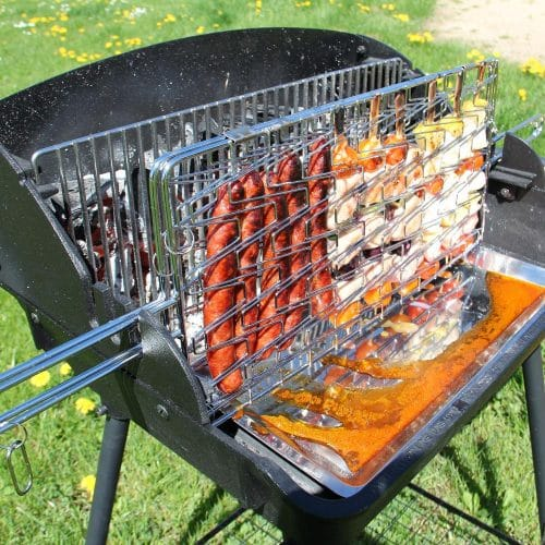 Le meilleur barbecue vertical prix pas cher et promotion guide d 39 achat - Grille pour barbecue vertical ...
