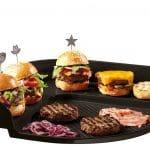 Emile Henry Eh797548 Burger Party Plaque Pour Barbecue