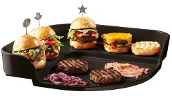 Emile Henry Eh797548 Burger Party Plaque Pour Barbecue