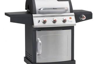 Le meilleur barbecue à gaz Compact Landmann 12652 Milton