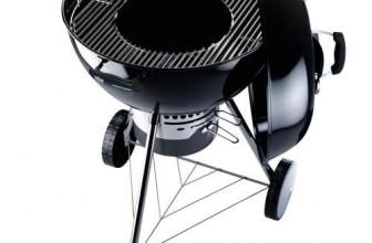 Test du Barbecue à charbon noir Weber 14501004 Master-Touch GBS